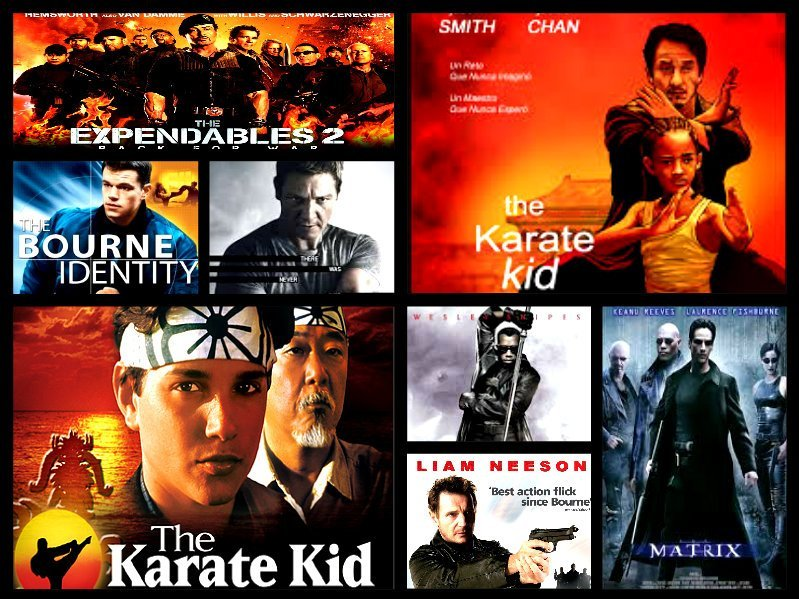 Movies Inspired by Martial Arts