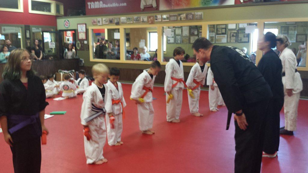 Kids Karate Belt Test Dayton Kettering Beavercreek