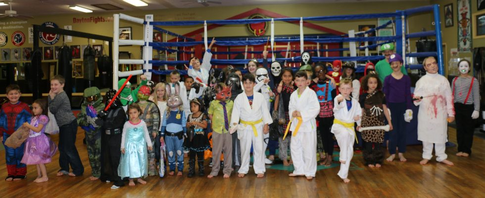 Kid's Karate Halloween Party