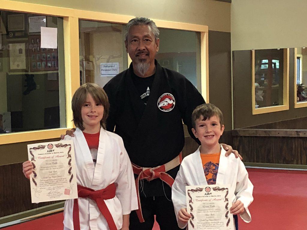 Karate Belt Promotions at Tama