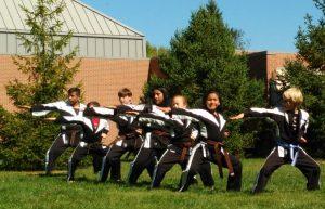 Kids Karate Demo Team